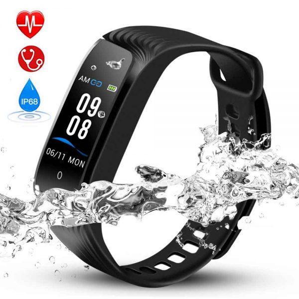 Hommie Fitness Tracker, Heart Rate Monitor Smart Bracelet